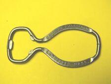 RARE 1930S HOLIHAN'S ALE BEER BOTTLE CAP OPENER KEY CHAIN LAWRENCE MASSACHUSETTS