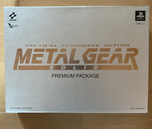 KONAMI PlayStation PS1 Metal Gear Solid Premium Package Complete SetKONAMI Play