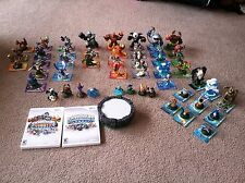 Huge lot of 49 Skylanders plus Games and Portal. Spyro's Adventures and Giants.