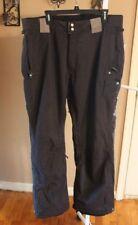 GRENADE Mens Insulated SNOWBOARD Black SNOW PANTS 26912 sz XL