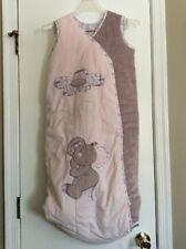 NWT Noukie's Baby Sleeping Bag Sleeveless Sleepsack Blanket Pink Mouse Flower