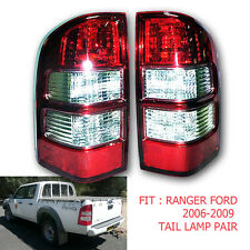 Fit 06 07 08 09 Ford Ranger Pk Pj Xl Xlt Hi-Lander Tail light Lamp Rear Red