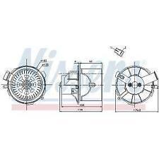 Nissens 87138 Blower Motor fit PEUGEOT 307