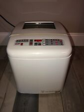 New listing Welbilt Abm6000 White 3 Loaf Sizes Large Capacity Bread Machine