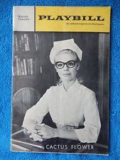 Cactus Flower - Royale Theatre Playbill - July 1968 - Betsy Palmer - Barton
