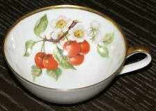 "HUTSCHENREUTHER Selb Pasco Bavaria Germany Cherry Pattern 4"" x 2"" Fruit Tea Cup"