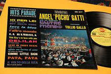 ANGEL P GATTI BIG BAND (VALDAMBRINI-G.BASSO-AZZOLINI) LP ITALY JAZZ '60 ORIG EX