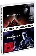 Double Up Collection: Terminator 2 & Total Recall   DVDs NEU FSK 18
