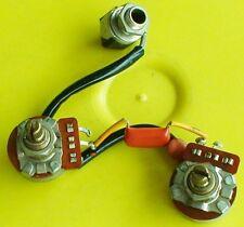 VINTAGE GIBSON EB0 EB-0 BASS POTS CAPACITORS CONTROLS SET 1968 - 1969 GOOD USED
