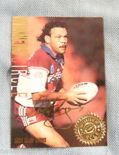 1995  MANLY SEA EAGLES WINNERS CIRCLE RUGBY LEAGUE CARD  WC1  CLIFF LYONS