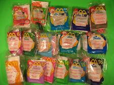 2000 McDonalds - Barbies set of 16 *MIP*