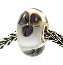 Authentic Trollbeads Glass 61387 Desert Flower  Bead