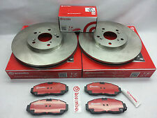2-Brembo Rotors & Pad Kit 25534 Toyota Sequoia 2001-2007 &Tundra 2000-10/2006