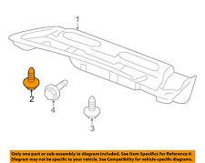 HONDA OEM-Trunk Lid Trim Clip 90666SA7003YM