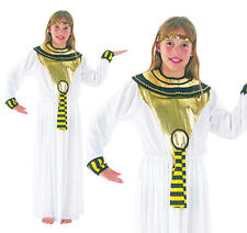 Childrens Cleopatra Fancy Dress Costume Girls Kids Egyptian Egypt Outfit M