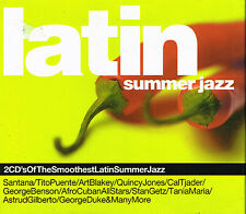 CD Album: latin summer jazz. beechwood 2 cd. B1