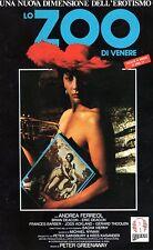Lo Zoo di Venere (1986)  VHS Ricordi 1a Ed. Peter Greenaway Andrea Ferreol