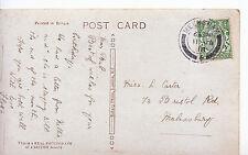 Genealogy Postcard - Family History - Carter - Bristol Road - Malmesbury   BE978