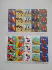 GB 2011 Olympic & Paralympic Games Set of 10 in Cylinder Blocks of 15 Superb U/M