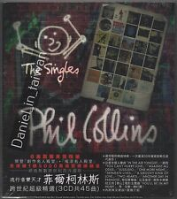 Phil Collins: The Singles (2016) TAIWAN SLIPCOVER 3 CD SEALED