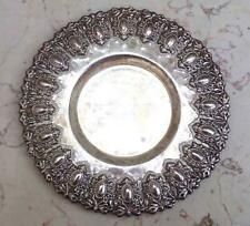 Antique Rare Handmade Sterling Silver Dish Bowl Tray 100 grams S34