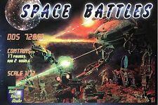 Dark Dream Studio (DDS) 1/72 72001 Space Battles (Set 1, Science Fiction Series)