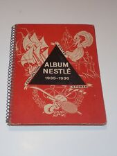 ALBUM NESTLÉ 1935-1936 contes explorations sports