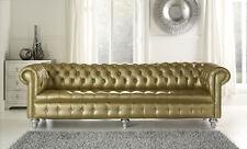 Chesterfield Ledersofa Sofa Couch XXL Big Luxus Designer Polster Garnitur !Neu!