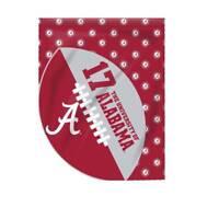 Jay Mac Sports University of Alabama Crimson Tide Sports Cut Garden Flag