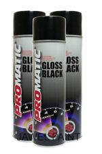 Aerosol Promatic For a Professional Finish BUY 2 GET 1 FREE Super Black Gloss