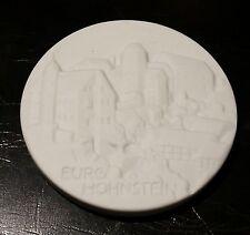 Meissen Porzellan Medaille  Burgen und Schlosser Sachsens