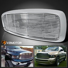 2002-2005 Dodge Ram 1500 2500 3500 Chrome ABS Front Hood Grill Grille