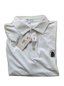Shinnecock Hills Peter Millar golf shirt white large