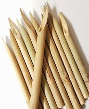 10 x Handmade Reed Pen Qalim Bamboo For Calligraphy Writing Arabic Assorted Size