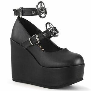 POISON-99-1  Black Vegan Leather