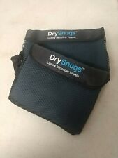 DrySnugs 2 Pack Quick Dry 100% Microfiber Travel Towels Large & Medium