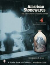 American Stonewares: The Art and Craft of Utilitarian Potters, New Book! $0 Ship