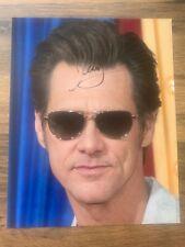 JIM CARREY - Hand Signed 10x8 Photo COA - Bruce Almighty The Mask Grinch - Film