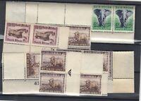 South Africa 1954/59 Blocks/Strips Collection MNH JK3155