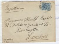 Spain 1913 Cover To London Postal History J4170