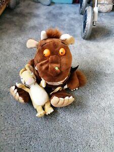 Gruffalo Bundle Plush soft toy Mouse and gruffalo Hand Puppet