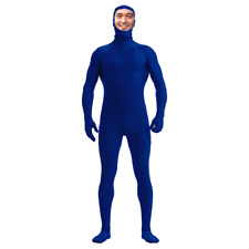 DH Zentai Suit Men's Spandex Lycra Halloween Full Body Costume (face exposed)