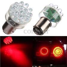 2x BAY15D 1157 P21/5W LED 12 SMD Bremslicht Rückfahrlicht Standlicht Birne Rot