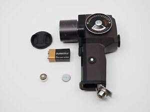 PENTAX SPOT METER III , Lens Cap, Tested, Zone VI Studios Repro Label System