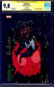 Venom #4 CGC SS 9.8 CORNER BOX PAINTED VARIANT signed by Joe Jusko NM/MT