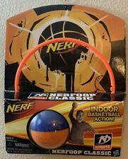 NEW NERF Sport NERFOOP Classic Indoor Basketball Action 97599 Hoop & Ball