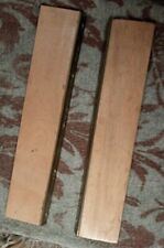 """Bookbinders Backing Boards, Beech, with Brass edges  15"""""""