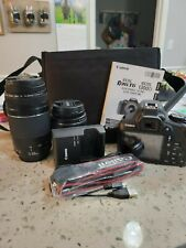Canon EOS Rebel T6 18.0MP Digital SLR Camera with 18-55 mm and 75-300 mm Lenses