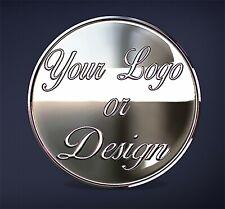 Laser Engraved 1oz 999 Silver Logo/Photo Coin Design/Create Your Own Custom Coin