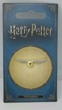 New Official Genuine Warner Brothers Harry Potter 'Gold Snitch' Pin Badge